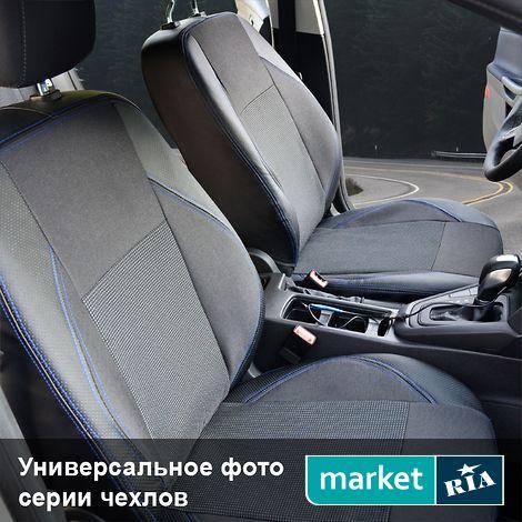 Чехлы на сиденья Союз-Авто Elite (Экокожа + Автоткань): фото - MARKET.RIA