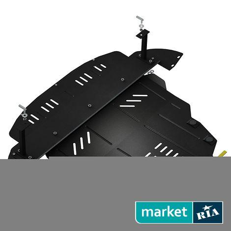 Купить Защита двигателя на Chery Arrizo 3 (Кольчуга), ZipoFlex, Сталь 2 мм