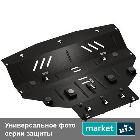 Купить Защита двигателя на Chery M11 (A3) (Кольчуга), ZipoFlex, Сталь 2 мм