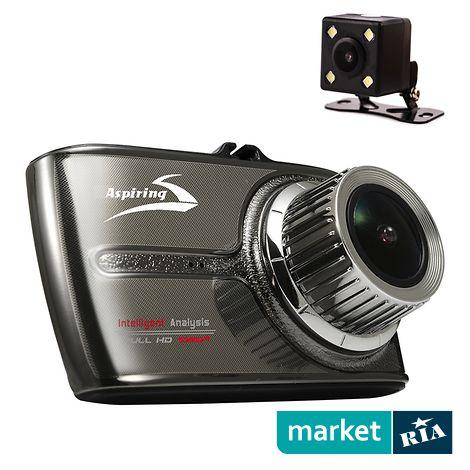 Купить Автомобильный видеорегистратор Aspiring Alibi 3