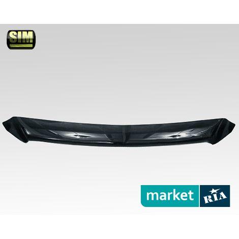 Купить Дефлектор капота на Infiniti EX, Acrylic, SIM, Черный