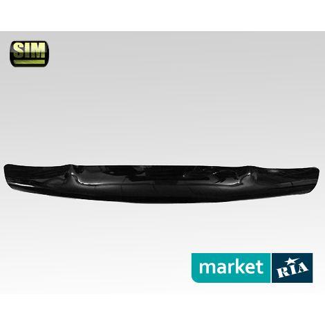 Купить Дефлектор капота на Nissan Juke, Acrylic, SIM, Черный