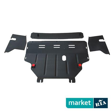 Защита двигателя и КПП для Citroen C5 2008-2014