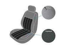 Модельные чехлы на сиденья DAF XF 2006-2012 (EMC-Elegant)