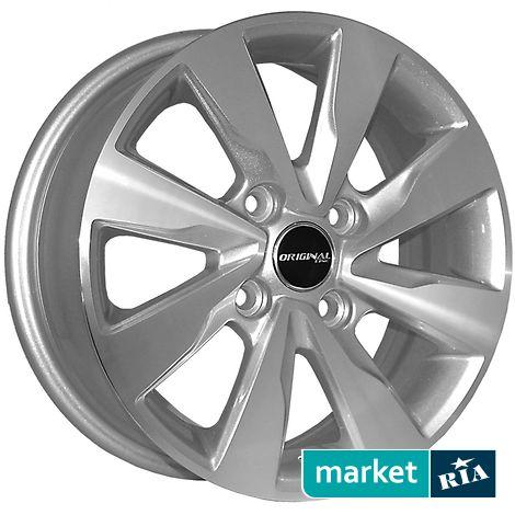 Купить Легкосплавные диски ZY 5116 (R15 W6 PCD4x114.3 ET44 ET56.6), серебро
