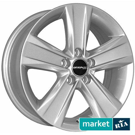 Купить Легкосплавные диски ZY 5125 (R15 W6 PCD5x112 ET38 ET57.1), серебро