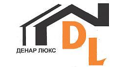Логотип строительной компании ДЕНАР-ЛЮКС