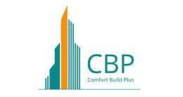 Логотип строительной компании КомфортБудПлюс