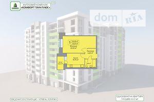 Продається 1-кімнатна квартира 43.01 кв. м у Тернополі