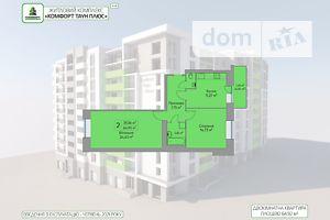 Продається 2-кімнатна квартира 64.92 кв. м у Тернополі