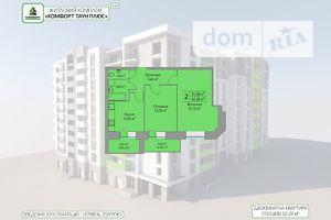 Продається 2-кімнатна квартира 62.28 кв. м у Тернополі