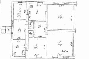 Продается 3-комнатная квартира 92.8 кв. м в Полтаве