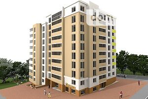 Продається 1-кімнатна квартира 46.76 кв. м у Тернополі