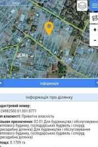 Продажа участка под жилую застройку, Черкассы, р‑н.Геронимовка, Благовестная