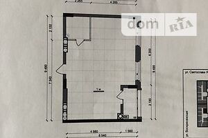 Продается 2-комнатная квартира 61 кв. м в Днепре