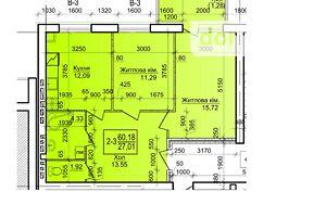 Продається 2-кімнатна квартира 60.18 кв. м у Василькові