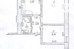 Продается 2-комнатная квартира 35.7 кв. м в Чемеровцах
