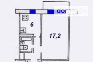 Продается 1-комнатная квартира 31 кв. м в Хмельницком