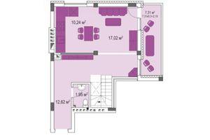 Продается 3-комнатная квартира 105.99 кв. м в Броварах