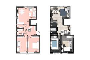 Продается 3-комнатная квартира 88.91 кв. м в Черноморске