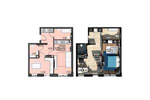 Продается 1-комнатная квартира 50.14 кв. м в Черноморске