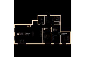 Продається 3-кімнатна квартира 98.1 кв. м у Львові