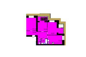 Продается 3-комнатная квартира 84.92 кв. м в Хмельницком