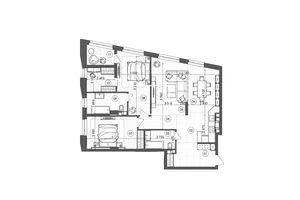 Продается 2-комнатная квартира 99.84 кв. м в Киеве