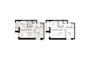 Продається 2-кімнатна квартира 59.86 кв. м у Одесі