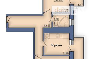 Продається 2-кімнатна квартира 68.7 кв. м у Полтаві
