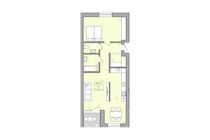 Продается 2-комнатная квартира 69.7 кв. м в Тернополе