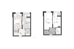 Продается 1-комнатная квартира 40.5 кв. м в Одессе