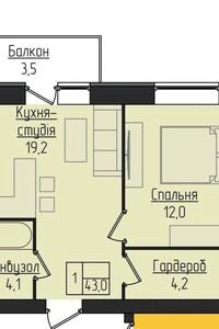 Продажа квартиры, Тернополь, р‑н.Старый парк, Лысенкоулица, дом 7