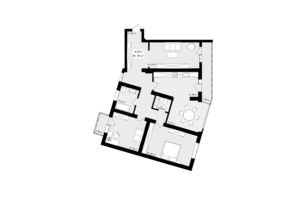 Продается 3-комнатная квартира 113.47 кв. м в Черновцах