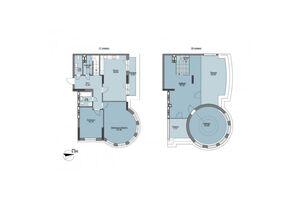 Продается 4-комнатная квартира 171 кв. м в Вышгороде