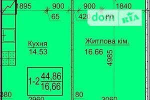 Продается 1-комнатная квартира 44 кв. м в Василькове