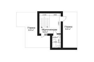 Продается дом на 3 этажа 149.25 кв. м с участком