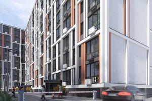 Продается 1-комнатная квартира 52.38 кв. м в Ужгороде