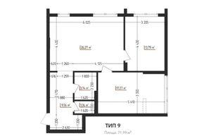 Продается 2-комнатная квартира 71.99 кв. м в Ужгороде