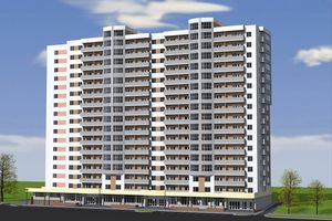 Продается 1-комнатная квартира 42.14 кв. м в Черкассах