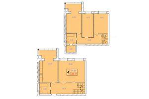 Продається 4-кімнатна квартира 138.17 кв. м у Хмельницькому
