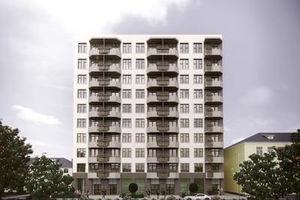Продается 1-комнатная квартира 47.58 кв. м в Киеве