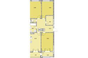 Продається 3-кімнатна квартира 99.27 кв. м у Львові