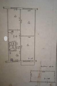 Продается 3-комнатная квартира 62 кв. м в Полтаве