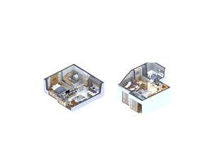 Продается 2-комнатная квартира 69.83 кв. м в Ирпене