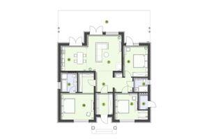 Продается дом на 2 этажа 134 кв. м с бассейном