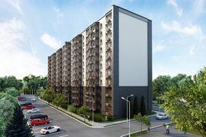 Продається 1-кімнатна квартира 46.65 кв. м у Чернігові