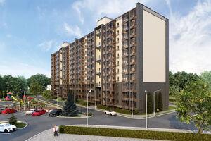 Продається 1-кімнатна квартира 47.83 кв. м у Чернігові