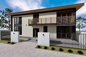 Продается дом на 2 этажа 300 кв. м с балконом