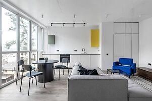 Продается 1-комнатная квартира 47.7 кв. м в Ирпене